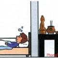 Cách hóa giải cho phòng ngủ nằm phía sau bàn thờ